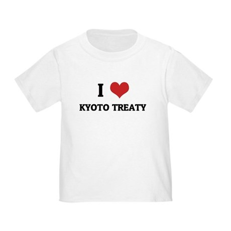 I Love Kyoto Treaty Toddler T-Shirt