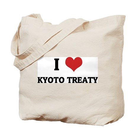 I Love Kyoto Treaty Tote Bag