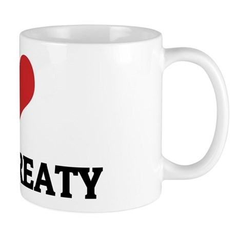 I Love Kyoto Treaty Mug