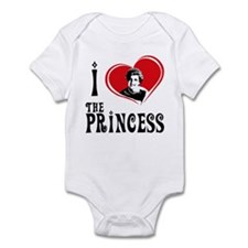 "I Love the Princess ""Diana"" Infant Bodysuit"