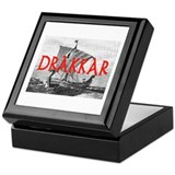 DRAKKAR (Tall Ship) Keepsake Box