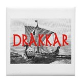 DRAKKAR (Tall Ship) Tile Coaster