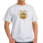 Police Sergeant Badge Light T-Shirt