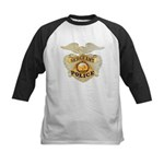 Police Sergeant Badge Kids Baseball Jersey