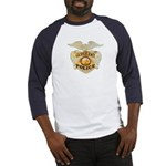 Police Sergeant Badge Baseball Jersey