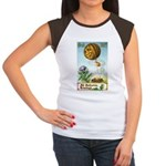 Hot Air Halloween Women's Cap Sleeve T-Shirt