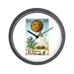 Hot Air Halloween Wall Clock
