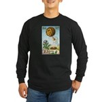 Hot Air Halloween Long Sleeve Dark T-Shirt