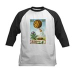Hot Air Halloween Kids Baseball Jersey