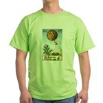 Hot Air Halloween Green T-Shirt