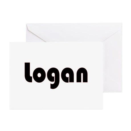 Logan Greeting Cards (Pk of 10)