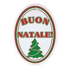 Buon Natale Christmas Ornament