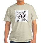 skull crossbones Light T-Shirt