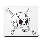 skull crossbones Mousepad