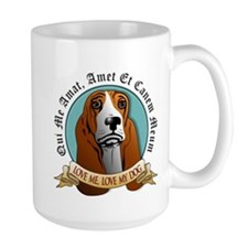 Love Me, Love My Dog - Basset Hound Mug