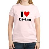 I Love Diving: T-Shirt