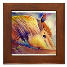 Funny Pony Framed Tile