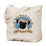 Love Me, Love My Dog - Pug Tote Bag