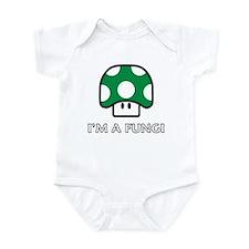 IM A FUNGI - Green Mushroom Infant Bodysuit