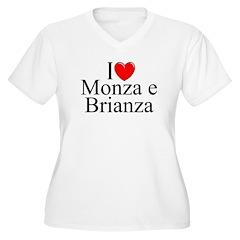 """""""I Love (Heart) Monza e Brianza"""" Women's Plus Size"""