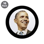 """Obama for President 3.5"""" Button (10 pack)"""