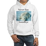 save the polar bear Hoodie