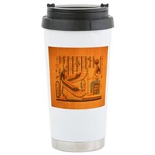 MAAT AND AUSET (ISIS) Ceramic Travel Mug