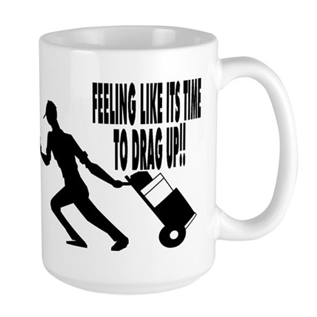 DRAG UP!! Large Mug