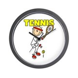 Male TENNIS Wall Clock