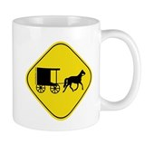 Amish Buggy Crossing Coffee Mug