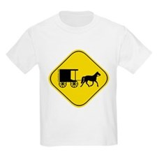 Amish Buggy Crossing T-Shirt
