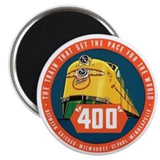 400 Train Magnet