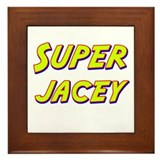 Super jacey Framed Tile