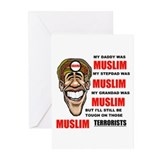 NOT MUSLIM? Greeting Cards (Pk of 20)