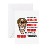 NOT MUSLIM? Greeting Card