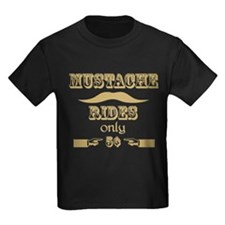 Mustache Rides only 5 cents T-Shirt T