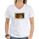 Mother & Child Women's V-Neck T-Shirt