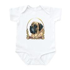 Mastiff Christmas Infant Bodysuit