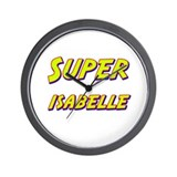 Super isabelle Wall Clock