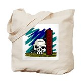 Witchcraft Skull Tote Bag