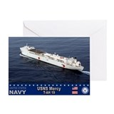 USNS Mercy T-AH-19 Greeting Card
