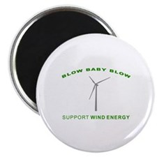 Support Wind Energy - Magnet