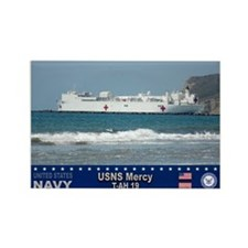 USNS Mercy T-AH-19 Rectangle Magnet (10 pack)