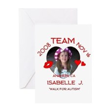 ISABELLE J Greeting Card