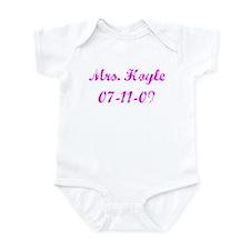 Mrs. Hoyle 07-11-09 Infant Bodysuit