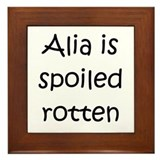 Cool Alia Framed Tile