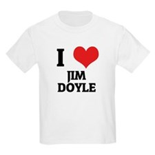 I Love Jim Doyle Kids T-Shirt