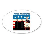 Whack A Candidate Oval Sticker (50 pk)