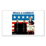 Whack A Candidate Rectangle Sticker 10 pk)