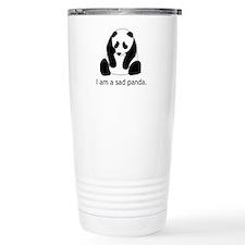 Sad Panda Ceramic Travel Mug